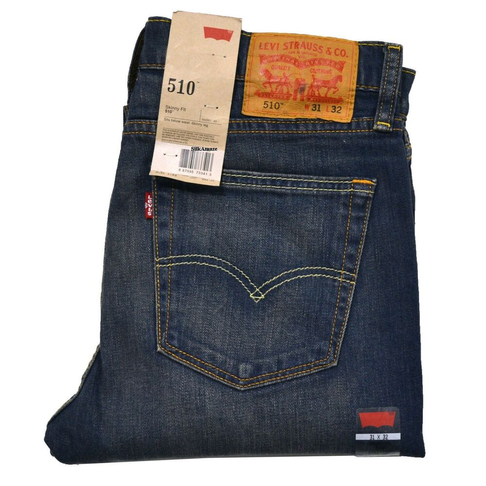 Jeans Levis Levi's 510 Men's Skinny Jeans(levis 510 Authentic, Brand ...