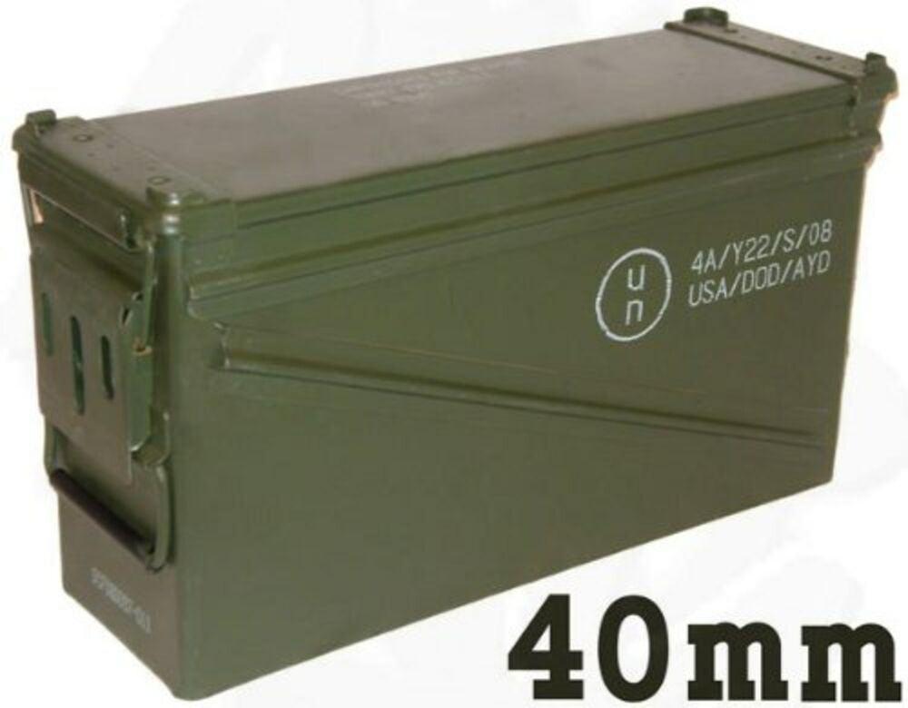 Pa 120 40mm Ammo Can Ammunition Box Ebay