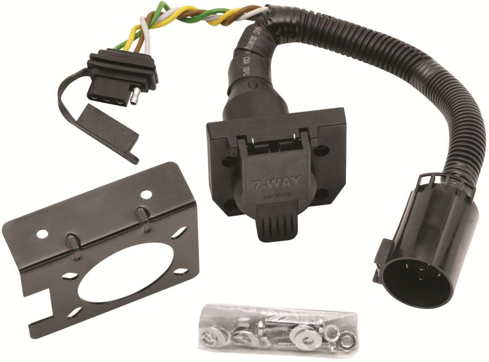 2010 DODGE RAM 1500 2500 3500 TRAILER HITCH WIRING KIT W FACTORY TOW