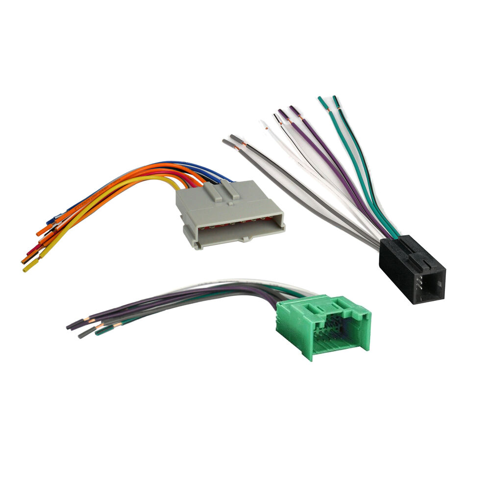 ford mustang factory cd player wiring harness