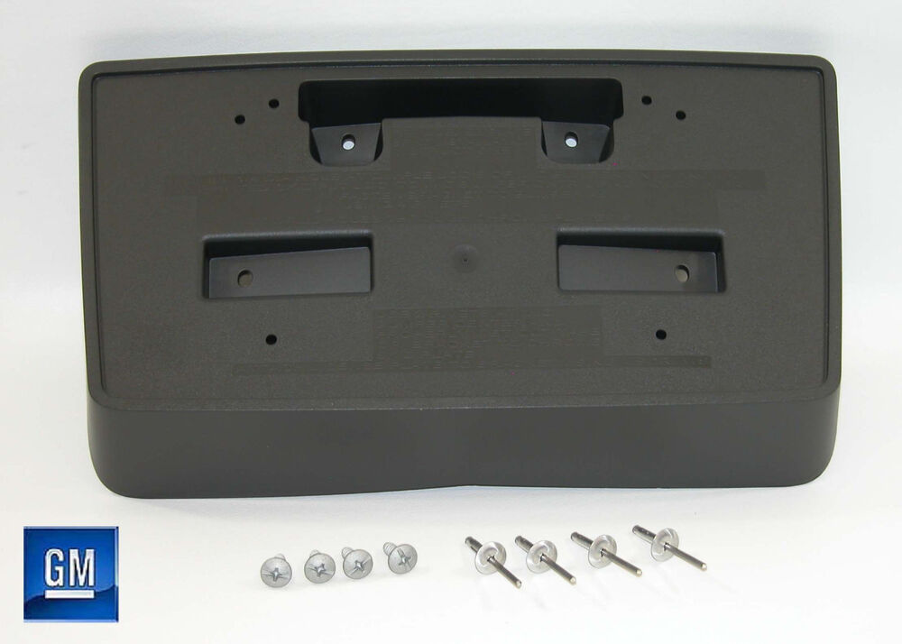 14 15 Chevy Silverado 1500 Front License Plate Mounting