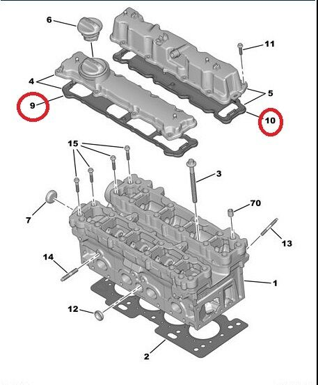 c4 engine diagram
