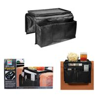 6 Pocket Arm Rest Organizer Remote Holder Tray Couch Sofa ...