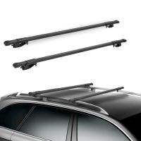 "48"" Car Top Roof Rails Racks Cross Bar Pair For Universal ..."
