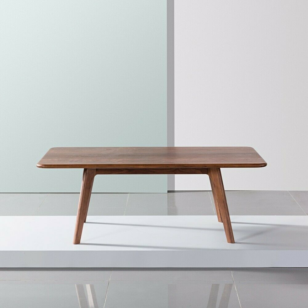 Solid Timber Coffee Table Magnus Timber Coffee Table Solid American Walnut Wood 120x70x43cm Ebay