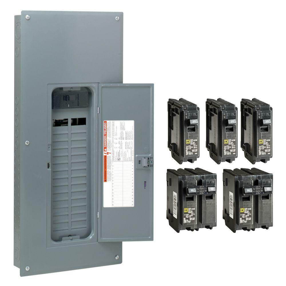main breaker fuse box