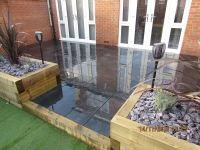 Black Slate Paving Garden Patio Slabs 18.27m2 20mm Thick
