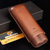 COHIBA Brown Genuine Leather 2
