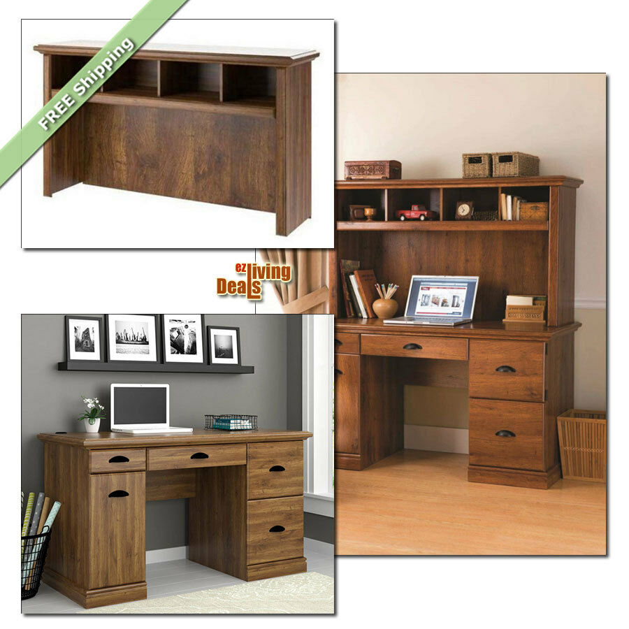 Home Office Computer Desk With Hutch