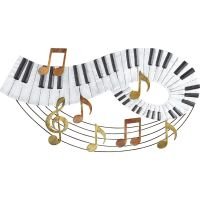 Music Notes and Piano Keyboard Wall Art, by Collections ...