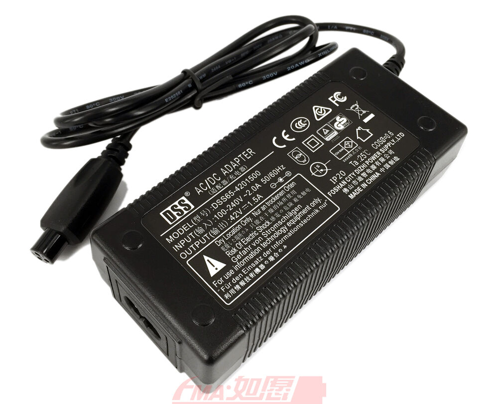 Laptop Orten Two Wheel Self Balanced Vehicle Ce Charger 42v 1 5a To 36v Li Ion Battery Eu M12 611434015616 Ebay
