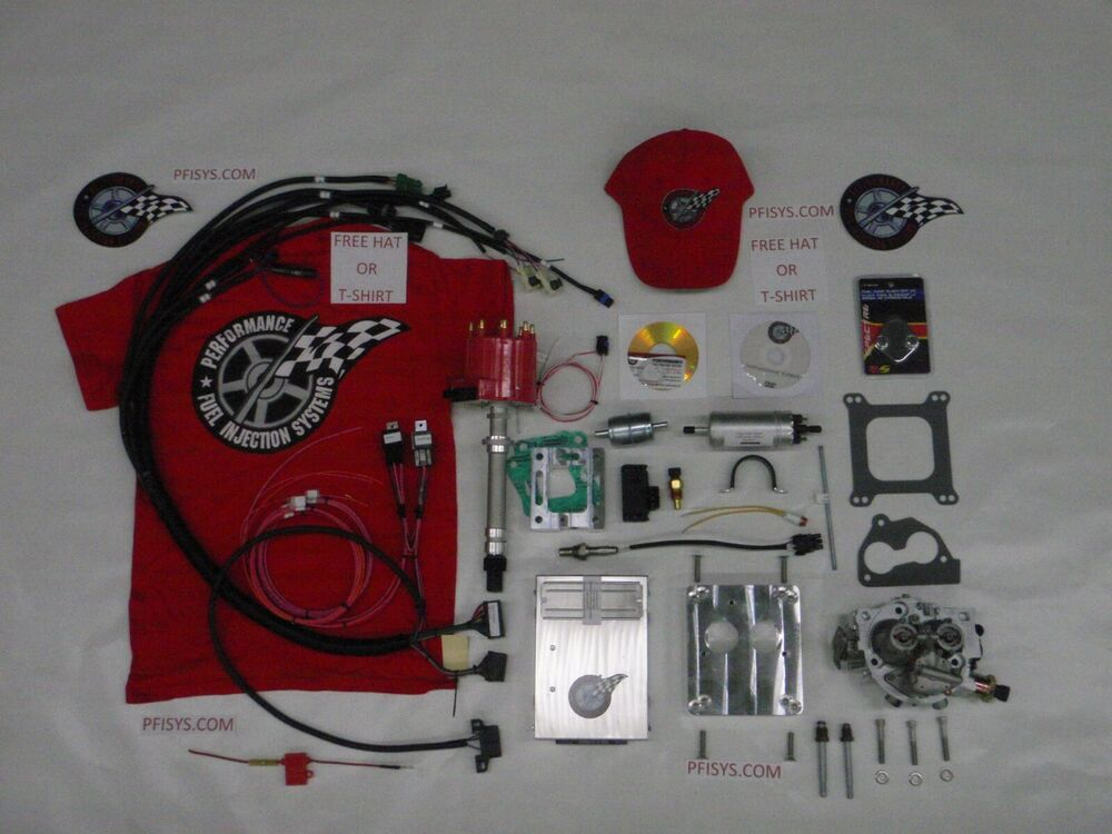 EFI Complete TBI Fuel Injection Kit Stock Chevy 454 74L MARINE