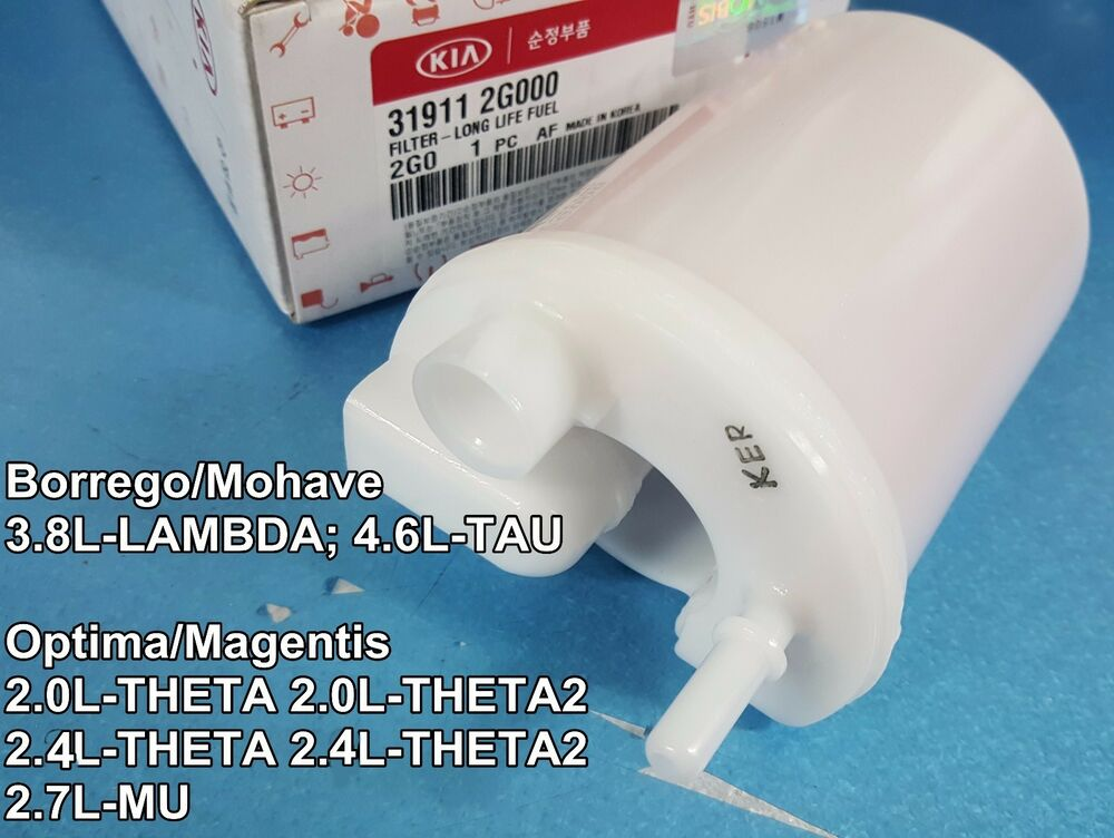 OEM Long Life Fuel Filter KIA Optima Magentis 20L 24L 27L 06-10