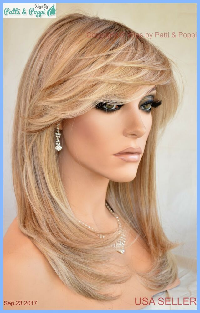 Spotlight Lace Front Heat Friendly Monotop Wig Raquel Welch Shaded