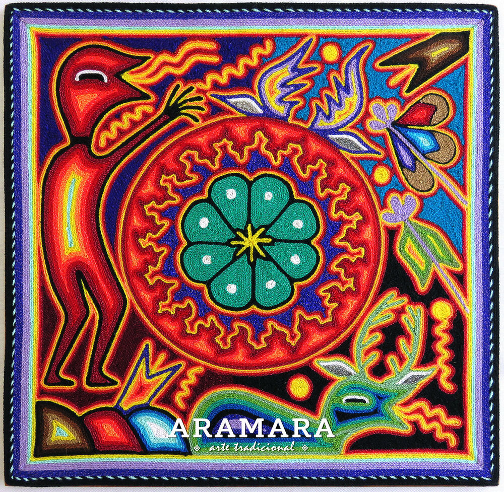 Arte Huichol For Sale 12