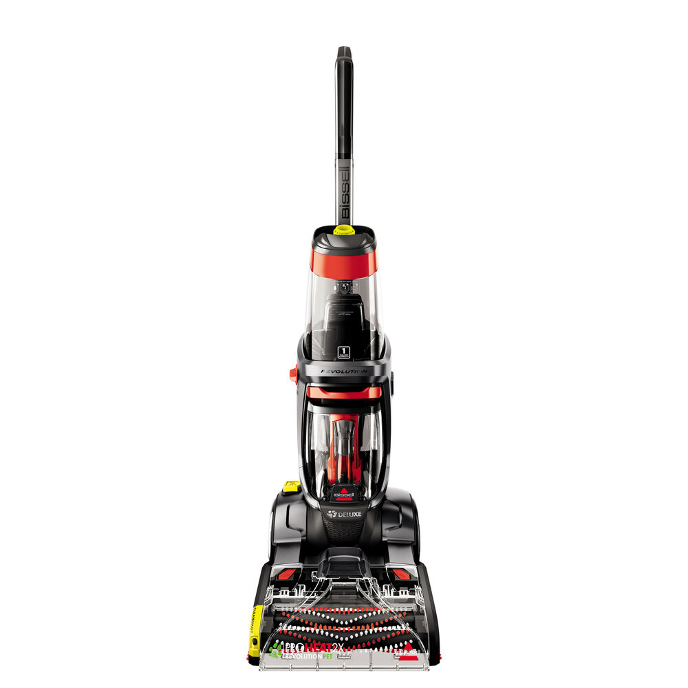 Carpet Cleaning Vacuum Bissell Proheat 2x Revolution Pet Pro Carpet Cleaner Deluxe 2007h Refurbished 11120239171 Ebay