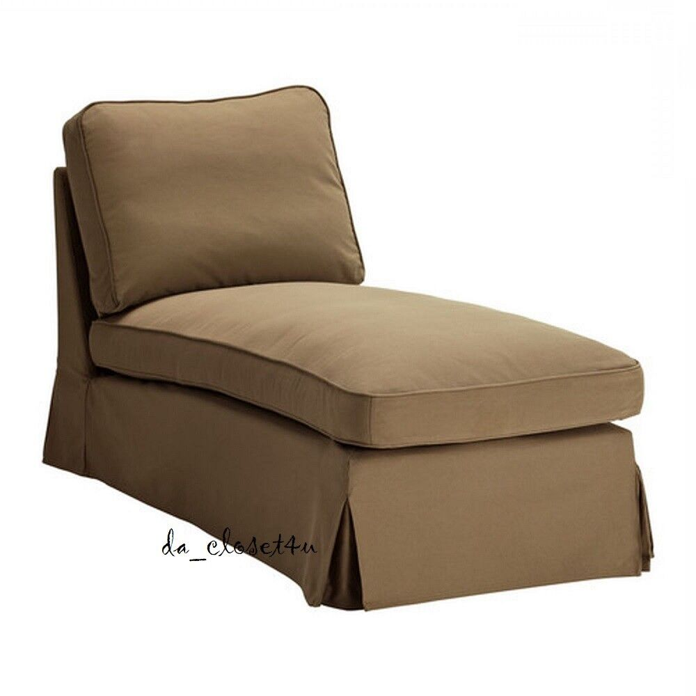 Ikea Les Chaises Ikea Ektorp Chaise Cover Idemo Light Brown Chaise Longue Slipcover 801 832 27 Ebay