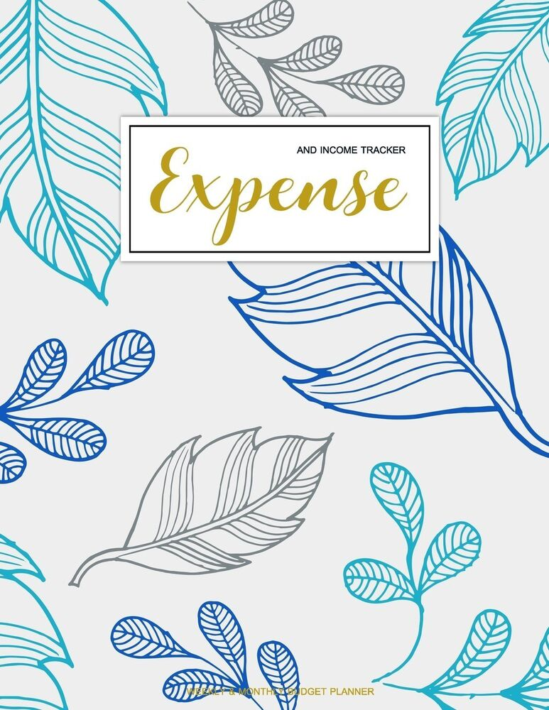 Expense And Income Tracker Finance Monthly  Weekly Budget Planner