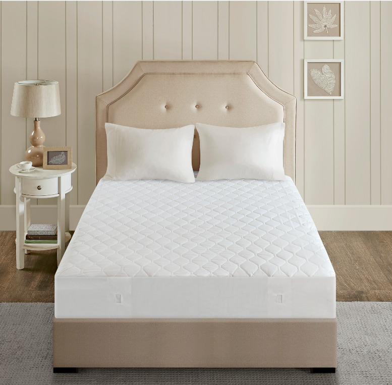 Bed Heater Luxury Heated Beautyrest Mattress Pad Soft Bed Heater Cushion Cover Queen White Ebay