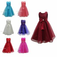 New Girls Formal Wedding Bridesmaid Party Size Dress Age 2 ...