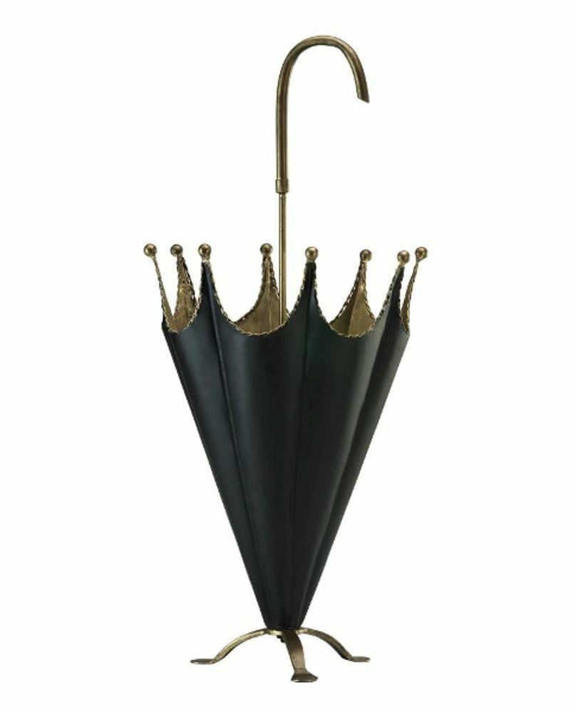 Umbrella Stand Holder Gold Black Finish Umbrella Design
