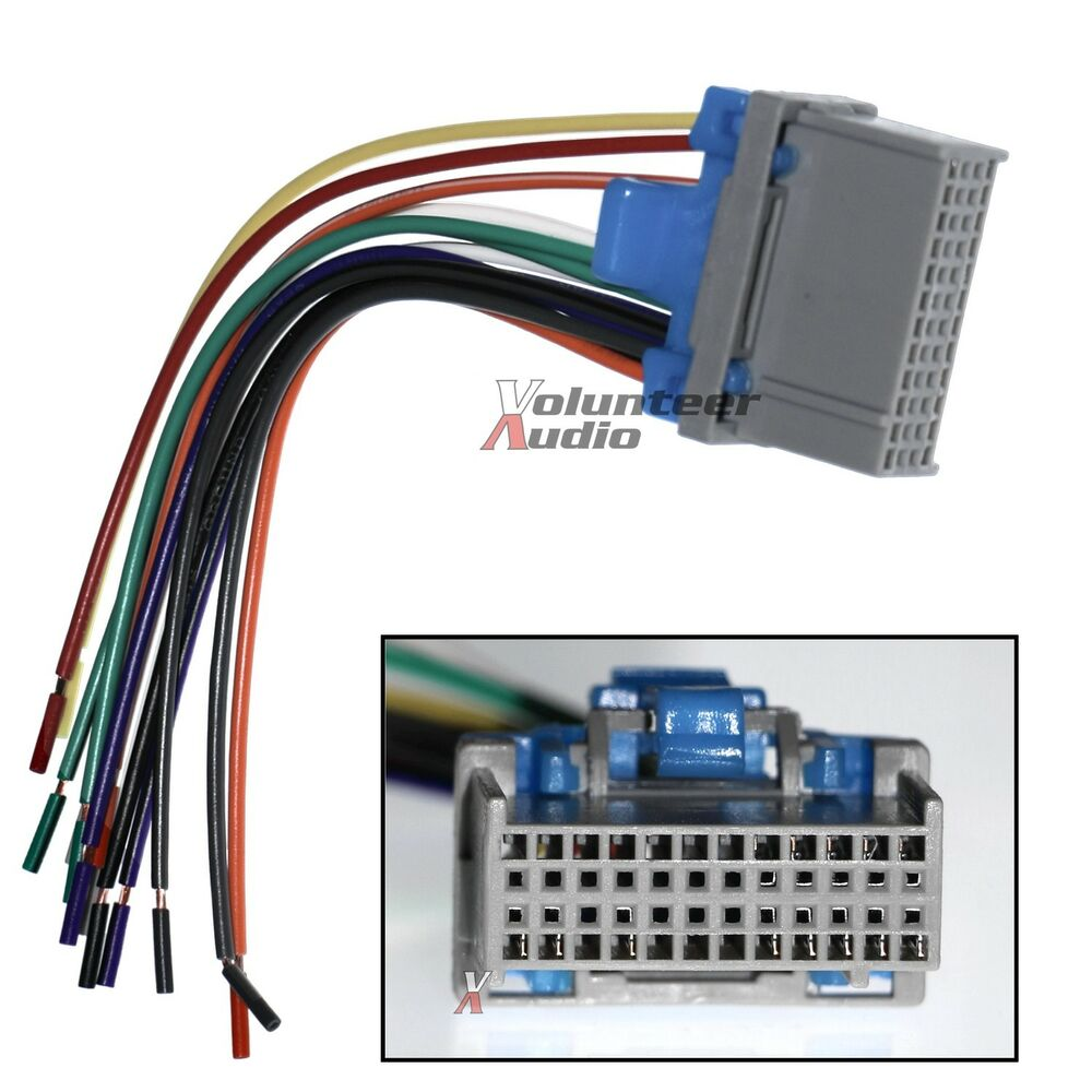 gm audio wiring harness