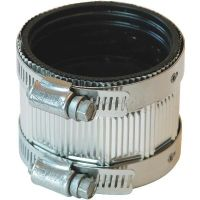 "6 Pack Fernco 1 1/2"" No-Hub Cast Iron Soil Pipe Coupling ..."