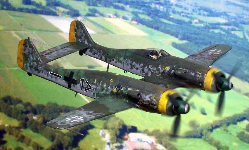 Focke Wulf Fw 190 Z 17 German Single Seat Fighter Aircraft