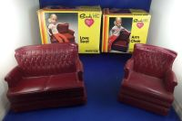 Doll Furniture Sindy/Barbie Arm Chair and Love Seat All ...