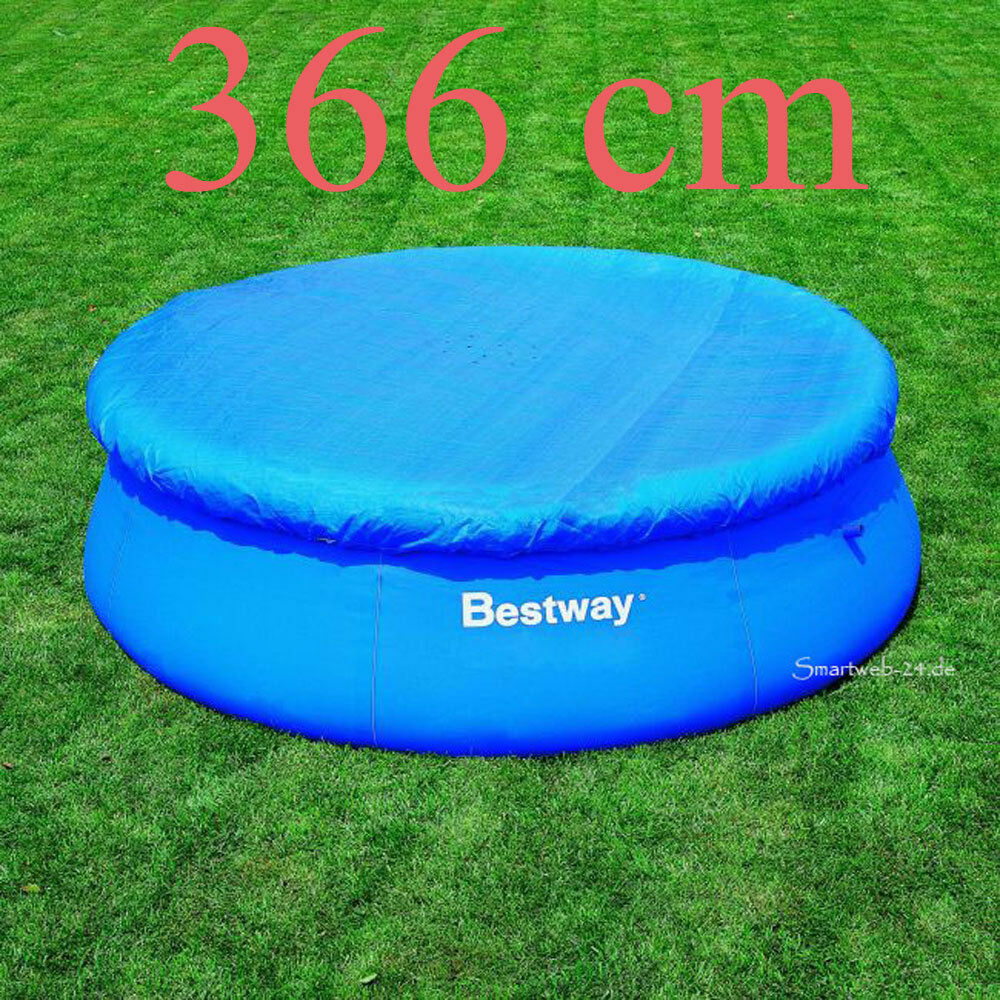 Quick Pool Abdeckplane B Ware Bestway Pool Abdeckplane 366cm Poolabdeckung Fast Set Quick