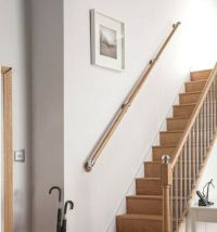 Wall Mounted Handrail Kit, Pine/Oak