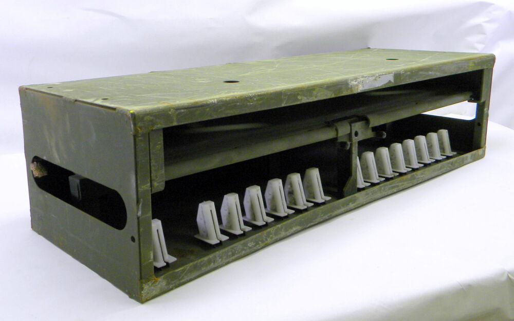 Military Surplus Small Arms Storage Rack Box For M9