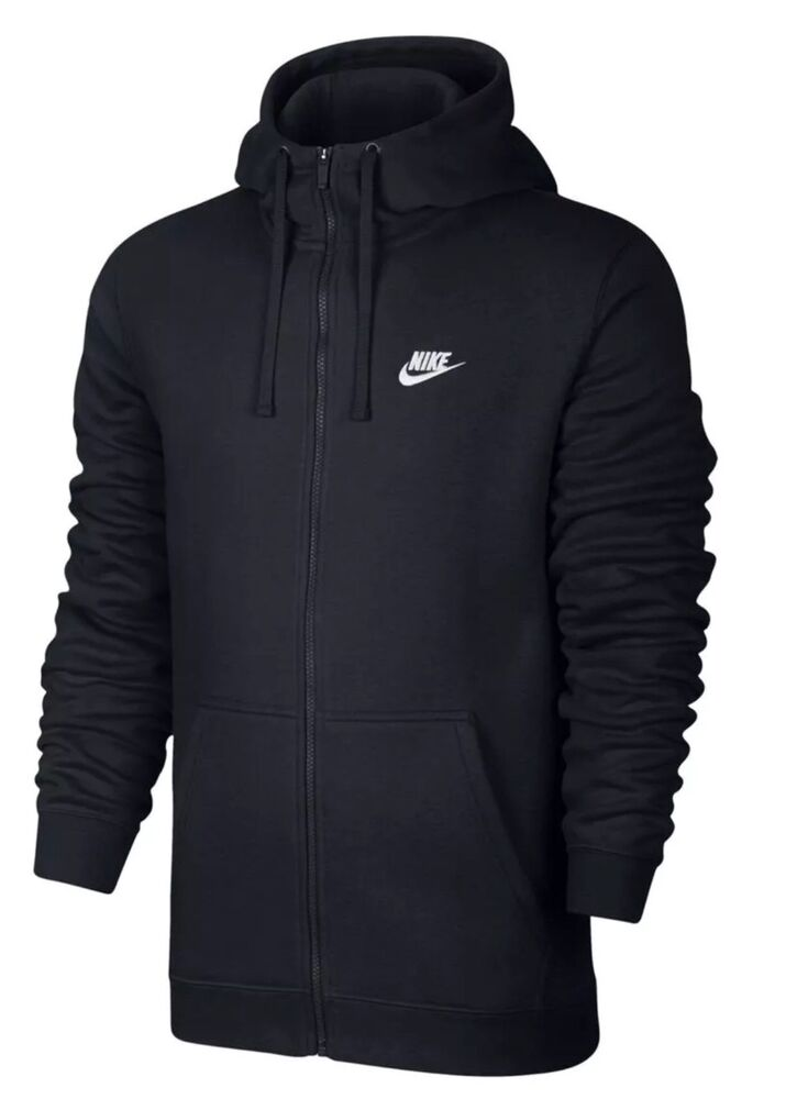 Nike Pullover Fleece Nike Full Zip Winter Fleece Hoodie Black 3xl 2xl Xl L M