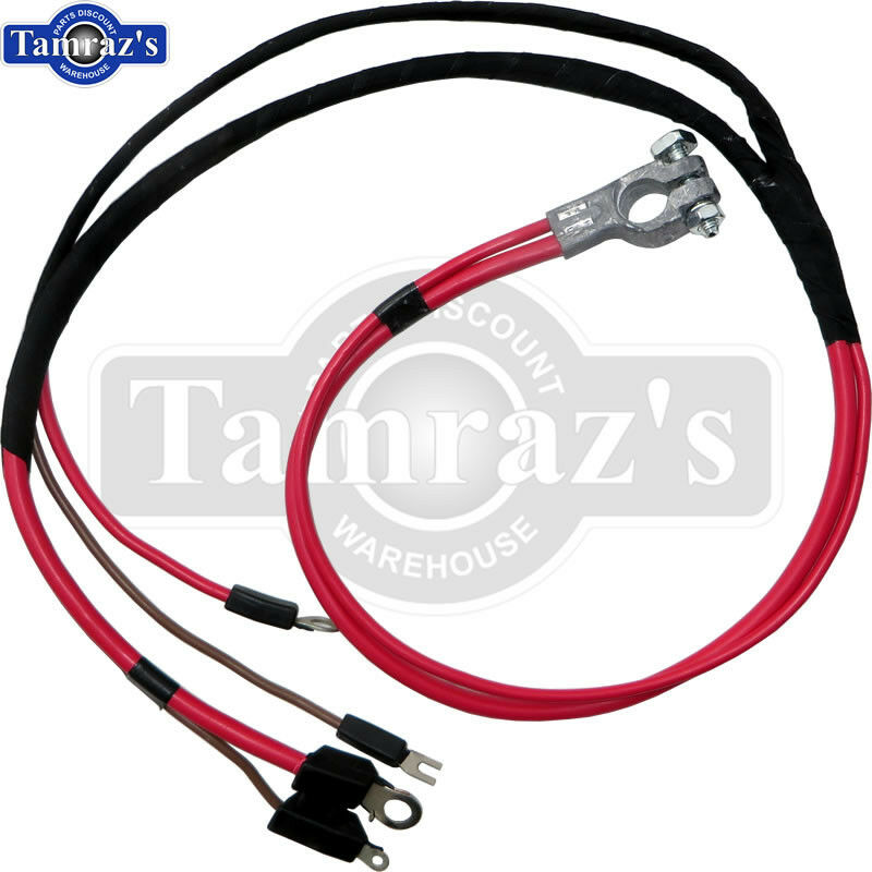 positive battery terminal wire harness wiring