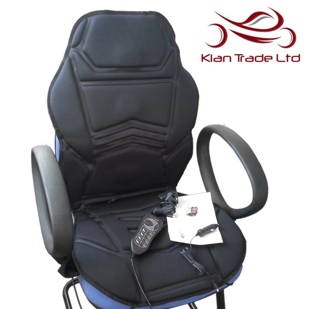 Massage Chair Cover Massage Heated Seat Cover Topper Chair Cushion Home Office Car Relaxing Massager Ebay