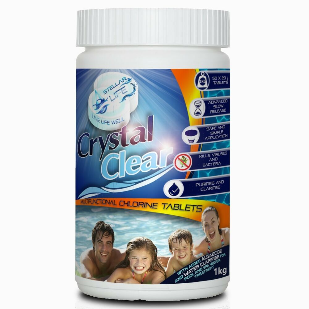 Pool Best Multitabs 50x 20g Multifunctional Chlorine Tablets For Hot Tub Swimming Pool Spa 1kg Tubs 660042213303 Ebay
