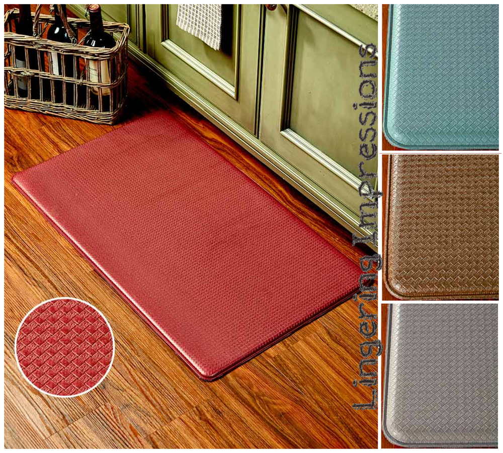 Vinyle Pvc Chef S Comfort Mats Vinyl Pvc Kitchen Laundry Room Bathroom Durable Waterproof Ebay