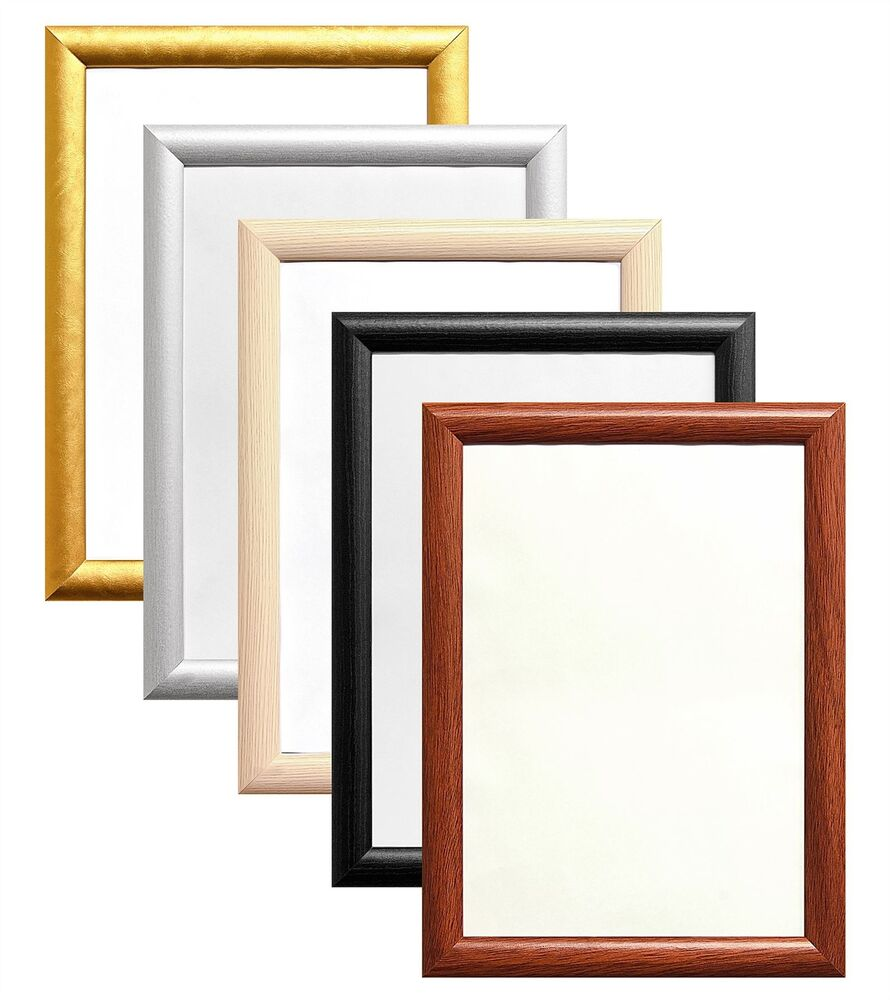 Cadre Photo Multiple Dome Shape Frames Wood Finish Photo Picture Poster Frame Large Multiple Sizes Ebay