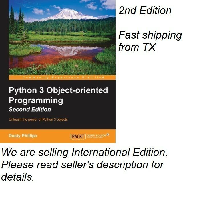Python 3 Object-oriented Programming - Second Edition 9781784398781