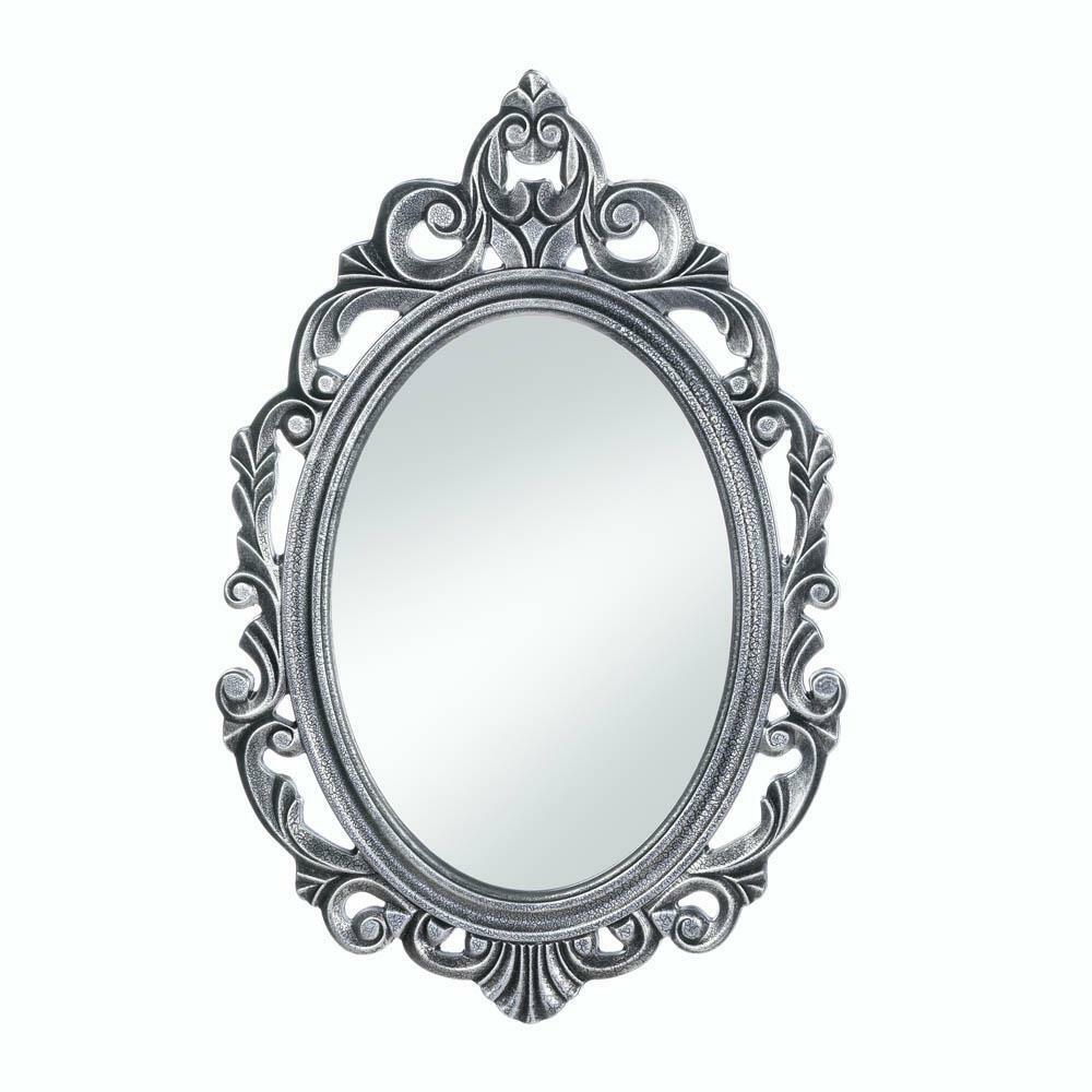 Decorative Mirror Decorative Mirrors For Walls Rustic Contemporary Silver Royal Crown Wall Mirror Ebay