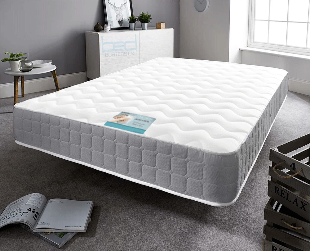 Small Super King Mattress Grey Memory Foam Spring Single Small Double King Size Super
