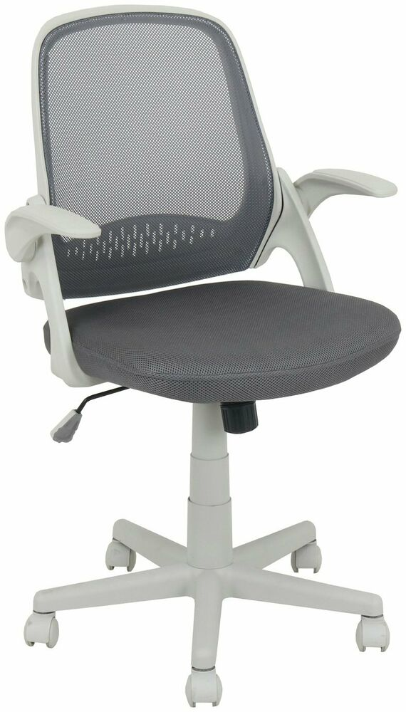 Grey Desk Chair Argos Home Turing Office Chair Grey Ebay