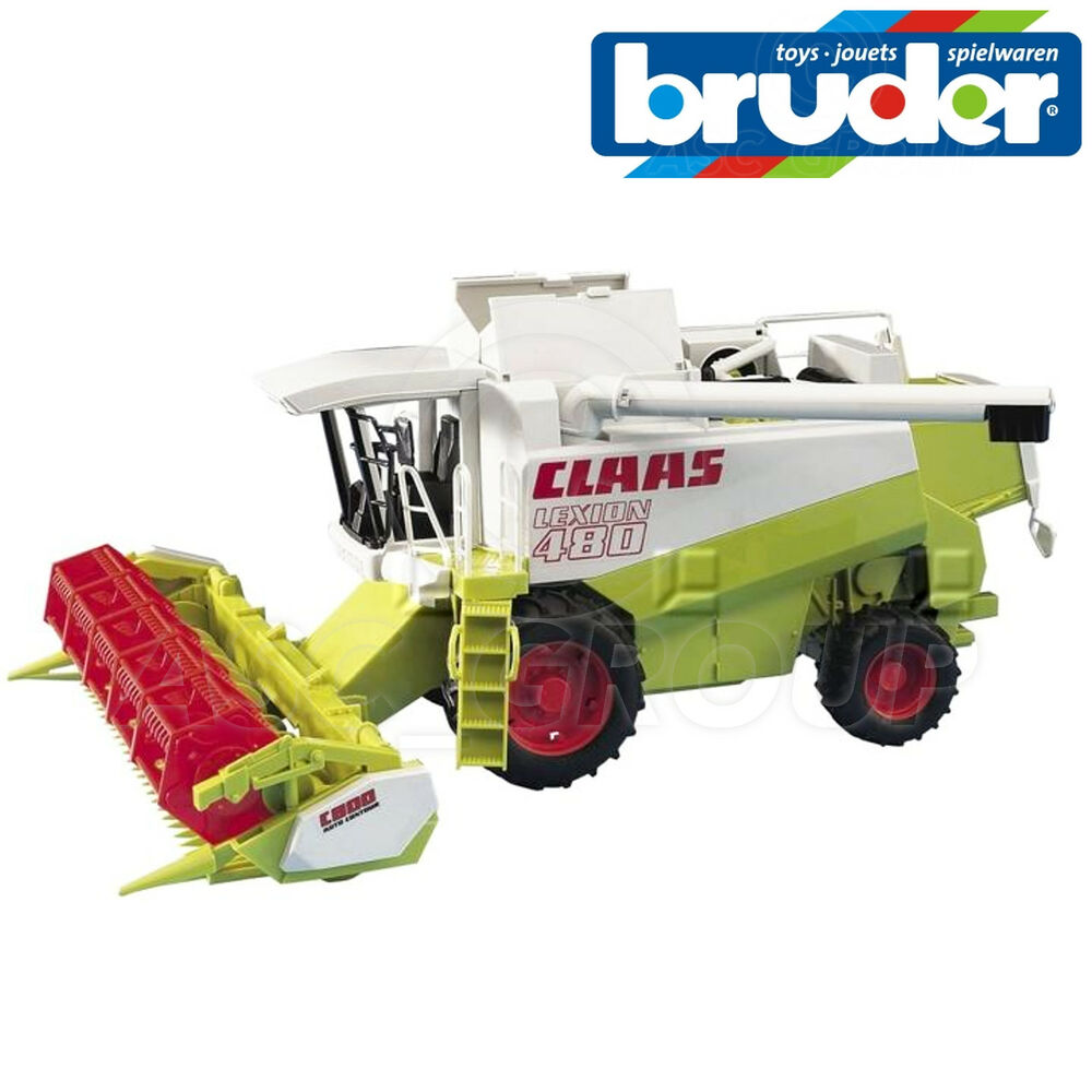 Bruder Claas Bruder Toys 02120 Claas Lexion 480 Combine Harvester 1 20 Scale Toy Model 4001702021207 Ebay
