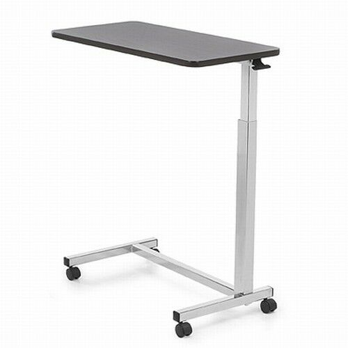 Invacare 6417 hospital over bed overbed table laptop food tv rolling