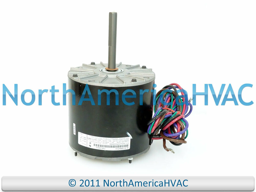 Ao Smith Condenser Fan Motor Wiring Online Wiring Diagram