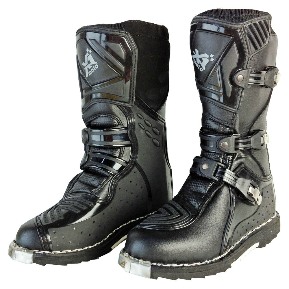 New Kids Youth Motocross Riding Boots Dirt Peewee Motor