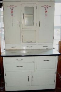 1940's~50's vintage Hoosier Cabinet with flour mill | eBay