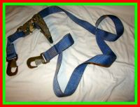 Flat Hook Ratchet Straps Tie Down Secure Boat Motorcycle ...