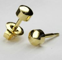 MAXI 5mm Gold Ball Traditional Studex Stud Ear Piercing ...