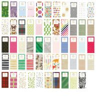 Printed Patterned Tissue Wrapping Paper designer 4 sheets ...